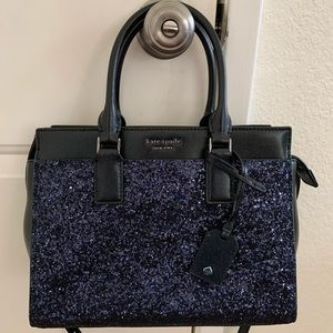 Kate spade Cameron medium satchel crossbody blue